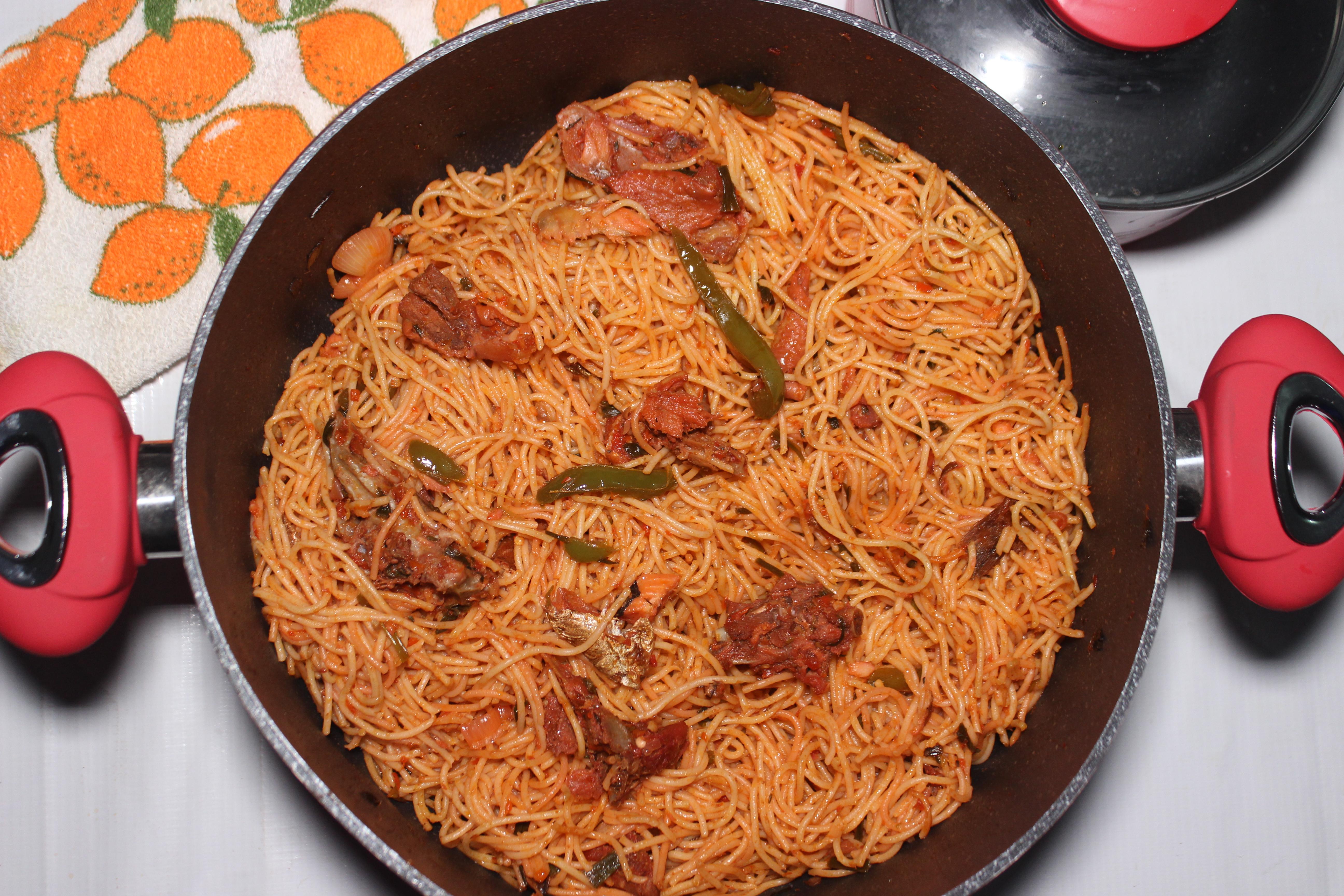 Stir-fry Spaghetti
