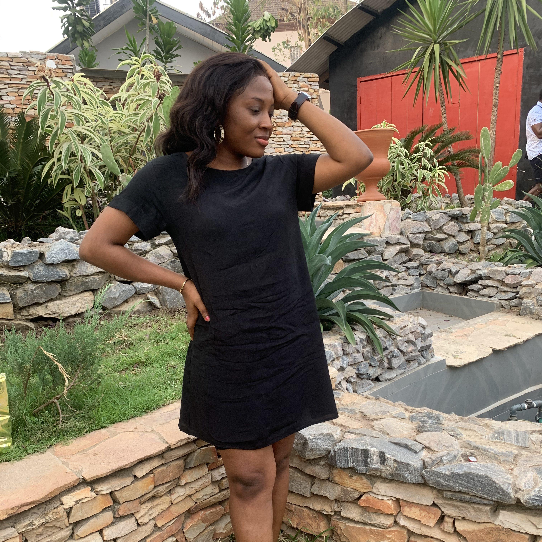 Temilade Adekoya at Tamberma Restaurant
